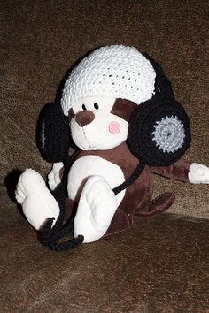Crochet Deejay hat  Want this for my future kid
