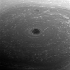 Saturn's clouds : These turbulent clouds are on top of the world at Saturn. NASA's Cassini spacecraft captured this view of Saturn's north pole on April 26, 2017 -- the day it began its Grand Finale -- as it approached the planet for its first daring dive through the gap between the planet and its rings. (Credit: NASA/JPL-Caltech/Space Science Institute)