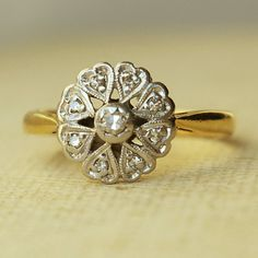 antique rings: luxe deluxe  Wedding Bridal Jewelry with Vintage Glamour  love this