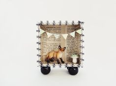 3D shadowbox frame Fox in the woods by ILaBoom on Etsy, $24.00