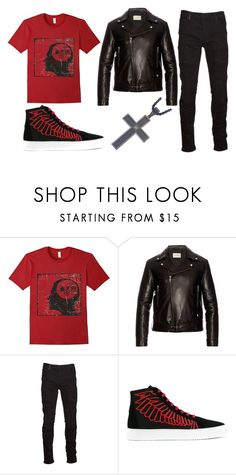 """Carlos"" by ariartist-1513 on Polyvore featuring Gucci, Marcelo Burlon, County Of Milan, men's fashion and menswear"