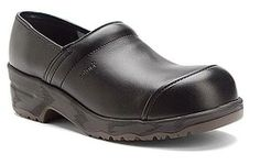 #Sanita Men's Leo Safe Protector Cap Toe PU Leather Clog Sanita. $112.92. Accepted by the American Podiatric Medical Association. Reinforced, padded instep holds your foot in the clog. Steel toe. leather. Absorbent insole provides comfort all day long. Non-slip bottom