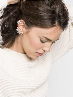 Asymmetrical Tinkerbell Ear Cuff Earring | BaubleBar - Love this!