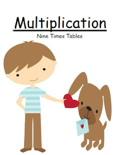 #Freebie Friday ~ Valentines Multiply By Nine Multiplication Center Game
