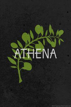 The Twelve Olympians: Athena by Hydrogene Portfolio