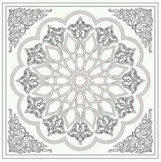 - Archives de modèles ~ Türkisches Kunsthandwerk und Hobbys Vérifiez plus sur Motifs Islamiques, Islamic Motifs, Islamic Art Pattern, Arabic Pattern, Pattern Art, Hobby Design, Ant Drawing, Motif Oriental, Plafond Design