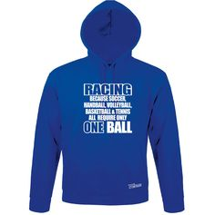 Sweatshirt Hoodie Kapuze RACING others only ONE BALL Sport Siviwonder bis 3XL