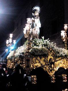 Fotografía de Alejandro Galán Ruiz. Virgen del Mayor Dolor -Ciudad Real- Realizada con móvil