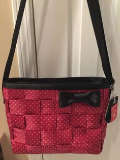 Disney Harveys Seatbelt bag Minnie Mouse Convertible Tote NWT