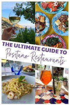 The Best Positano Restaurants | Teaspoon of Nose