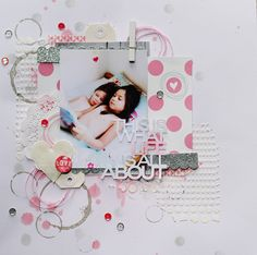 #papercraft #scrapbook #layout  This is what life is all about by Annelie at @Studio_Calico