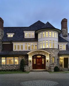 Cardello Architects is a leading commercial & residential architecture firm providing custom home design services to Fairfield and Westchester counties. Architecture Design, Residential Architecture, Villa Plan, Traditional Exterior, House Goals, Creative Home, Humble Abode, My Dream Home, Dream Homes