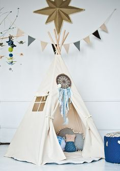 Teepee the natural one.