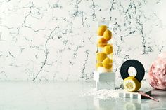 In partnership with Francesca Sarti from Arabeschi di Latte and Micha Weidmann Studio, Caesarstone releases its first conceptual cooking book with food design recipes. Menu Design, Food Design, Caesarstone Raw Concrete, Latte, Milan Design, New Cookbooks, Interior Styling, Food Art, Modern Design