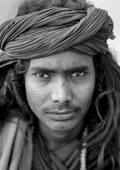 Black Naga At Maha Kumbh Mela, Allahabad, India by Eric Lafforgue, via Flickr