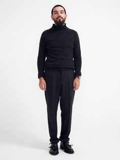 ROLLING TURTLE NECK | GENTRY NYC