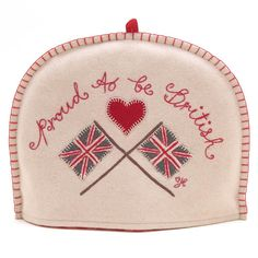 Jan Constantine - Proud to be British Tea Cosy (Cream) TC42 C, £66.50 (http://www.janconstantine.com/proud-to-be-british-tea-cosy-cream-tc42-c/)