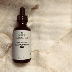 Revitalizing Hair Growth Oil