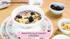 Smoothie allo yogurt