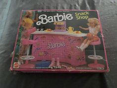 Barbie Snack Shop Accessory Playset