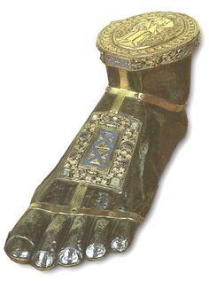 Foot reliquary of St. James, Namur, France