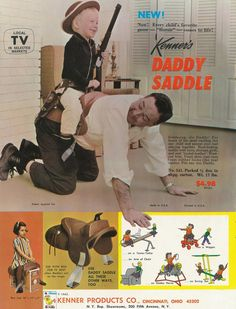 The Daddle, A Western Style Saddle To Strap on Your Daddy