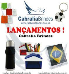 Cabralia Brindes Lançamentos