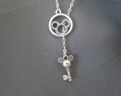 Mickey Mouse Lariat Necklace
