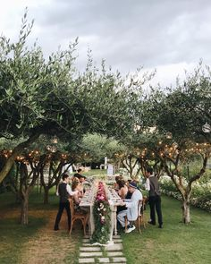 small wedding An intimate dinner under a cosy canopy of twinkling olive trees, all overlooking the dramatic Amalfi coast . Cant wait to share more of Wedding Dinner, Tree Wedding, Wedding Bells, Wedding Canopy, 1920s Wedding, Italy Wedding, Small Intimate Wedding, Intimate Weddings, Italian Weddings