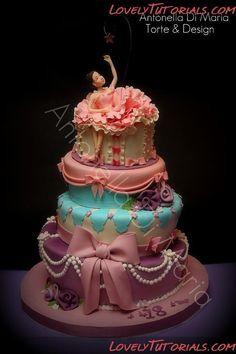 Antonella Di Maria Torte & Design - Мастер-классы по украшению тортов Cake Decorating Tutorials (How Tos) Tortas Paso a Paso