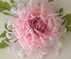 Хризантема — цветок из тонкой ткани | shshshopotom