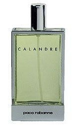 Calandre Paco Rabanne, an old fav. Calandre was launched in 1969. This feminine fragrance is very difficult to sort into a certain group of fragrances. Citrusy uplift of bergamot in the top notes follows the floral heart with white rose, pelargonium and hyacinth. The base is woody, powdery, with intensive musky notes.