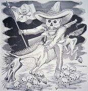 Calavera Zapatista, c.1910  by Jose Guadalupe Posada