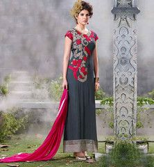 EVER STYLISH WEDDING SUIT NEW COLLECTION 2015 WITH EMBROIDERY WORK #VDINA5553 Rs. 5,550.00