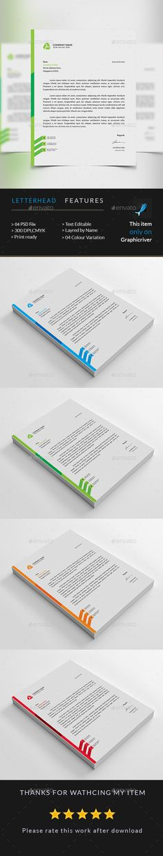 Letterhead - corporate letterhead
