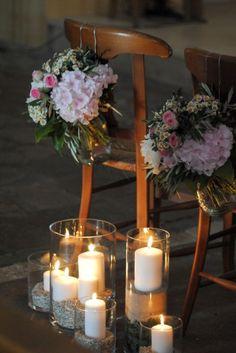 Décors fleurs cérémonie mariage religieux île de ré La Rochelle