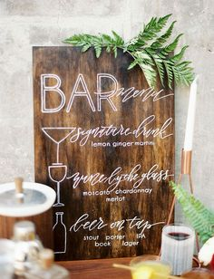 Wedding Stationery Inspiration: Creative Wedding Menu Ideas