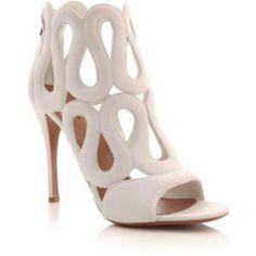 White sandels