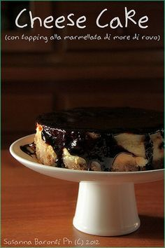 cheese cake marmellata more di rovo