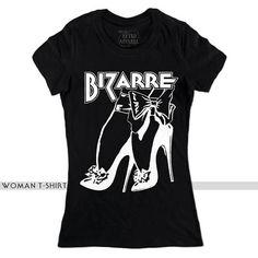 BIZARRE HIGH HEELS black t-shirt, retro t-shirt, vintage t-shirt, high heels, ladies t-shirt, women t-shirt, fashion tee, gift for her