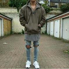 74 Stylish Men Urban Fashion Ideas Suitable for This Fall - Aksahin Jewelry Latest Outfits, Cool Outfits, Street Outfit, Street Wear, Urban Fashion, Mens Fashion, Outfits Hombre, Tomboy Outfits, Mens Trends