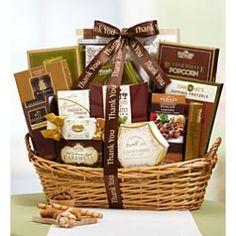 Thank You Grandeur Gourmet Gift Basket.