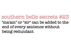 Southern Belle Secrets :)