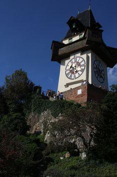 Grüß Gott! Big Ben, About Me Blog, Clock, Antiques, Building, Wall, Travel, Home Decor, Watch