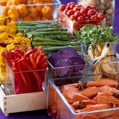 Catering Menus   Appetizers, Buffets, Plated   Portland Oregon   Vibrant Table