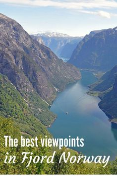 The most amazing viewpoints in Fjord Norway!