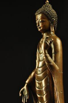【楽天市場】弥勒菩薩 銅造・彫金仕上げ:仏像仏画チベット美術卸の天竺堂