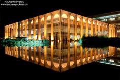 Palacio do Itamaraty at Night, Brasilia - http://andrewprokos.com/photos/locations/brazil/