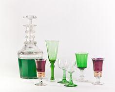 Cristalería Vintage Vintage glasses