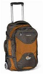 Backpacking across Europe? Heading to Asia? Lowe Alpine's TT Roll On 40 gives you the convenience of backpack with the convenience of wheels. It opens like a suitcase for easy access and offers three ways to carry - roll it, carry as a backpack or use the hidden shoulder harness. Great bag for any trip.